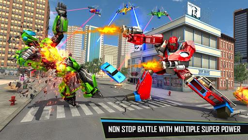 Drone Robot Car Game – Robot Transforming Games v1.2.5 screenshots 2