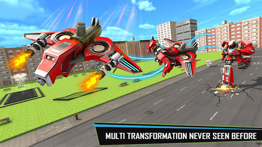 Drone Robot Car Game – Robot Transforming Games v1.2.5 screenshots 3