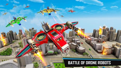 Drone Robot Car Game – Robot Transforming Games v1.2.5 screenshots 4