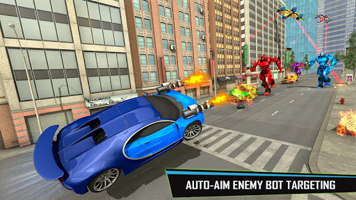 Drone Robot Car Game – Robot Transforming Games v1.2.5 screenshots 5