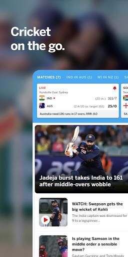 ESPNCricinfo – Live Cricket Scores News amp Videos v7.0 screenshots 1