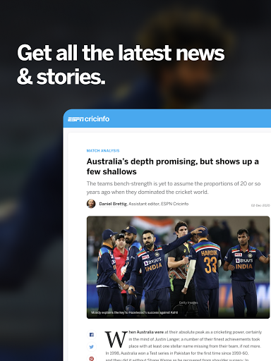 ESPNCricinfo – Live Cricket Scores News amp Videos v7.0 screenshots 10