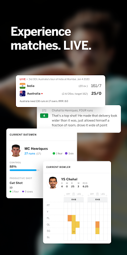 ESPNCricinfo – Live Cricket Scores News amp Videos v7.0 screenshots 2