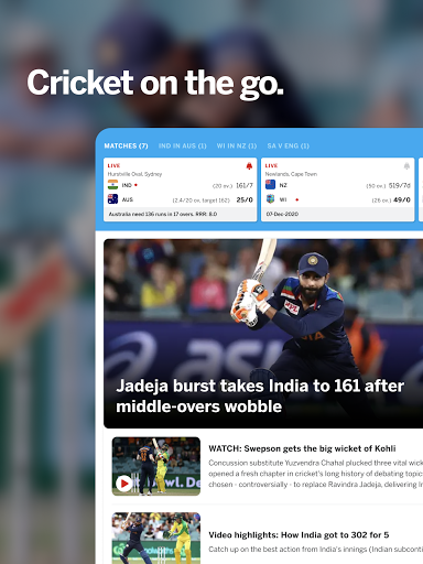 ESPNCricinfo – Live Cricket Scores News amp Videos v7.0 screenshots 7