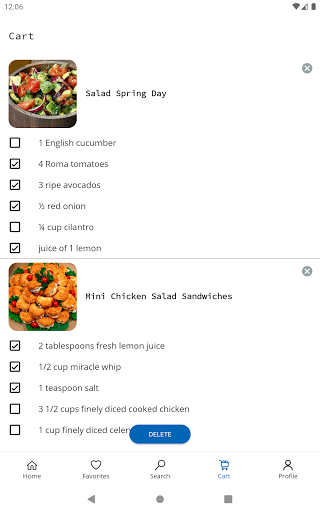 Easy Recipes v6.09 screenshots 14