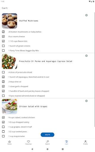 Easy Recipes v6.09 screenshots 8