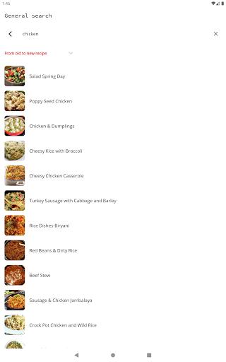 Easy Recipes v6.09 screenshots 9