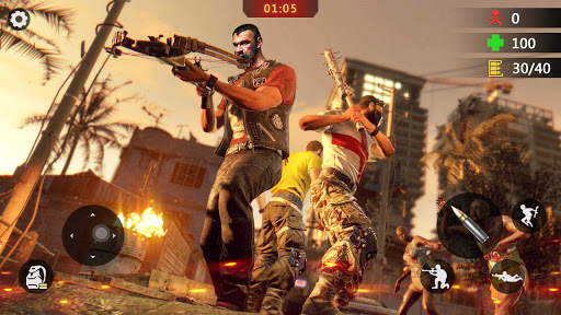 Elite Killer 3D Zombie Offline Shooting Games-FPS v1.2.7 screenshots 1