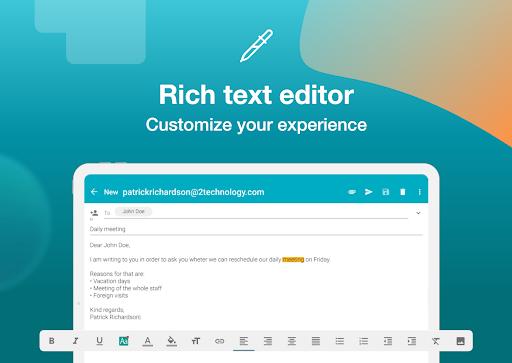 Email Aqua Mail – Exchange SMIME Smart inbox v1.29.1-1808 screenshots 11