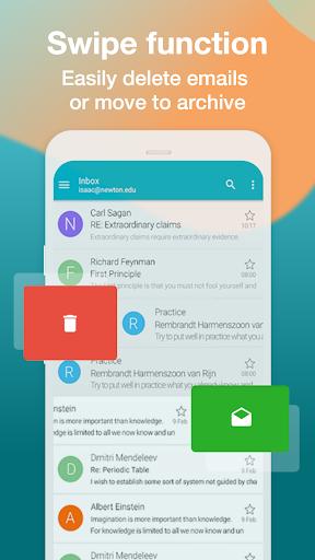 Email Aqua Mail – Exchange SMIME Smart inbox v1.29.1-1808 screenshots 4