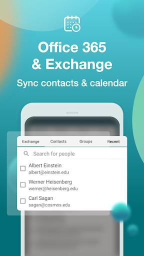 Email Aqua Mail – Exchange SMIME Smart inbox v1.29.1-1808 screenshots 5