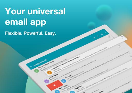 Email Aqua Mail – Exchange SMIME Smart inbox v1.29.1-1808 screenshots 7