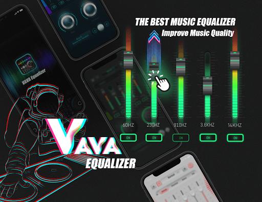 Equalizer Sound Booster – VAVA EQ Music Bass Boost v1.2 screenshots 1
