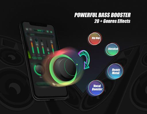 Equalizer Sound Booster – VAVA EQ Music Bass Boost v1.2 screenshots 7