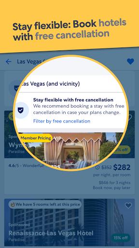 Expedia Hotel Flight amp Car Rental Travel Deals v21.17.0 screenshots 1