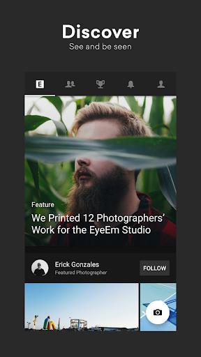 EyeEm Free Photo App For Sharing amp Selling Images v screenshots 1