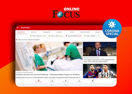 FOCUS Online – Nachrichten Die schnelle News App v7.14 screenshots 5