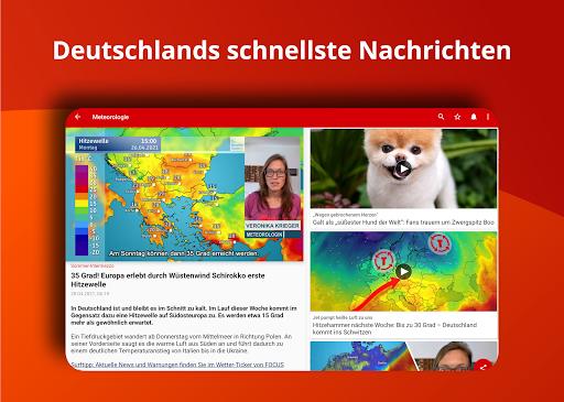 FOCUS Online – Nachrichten Die schnelle News App v7.14 screenshots 6