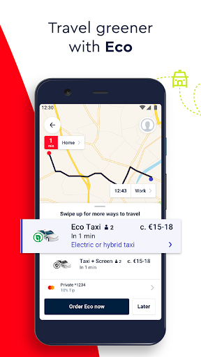 FREE NOW mytaxi – Taxi Booking App v10.59.0 screenshots 2
