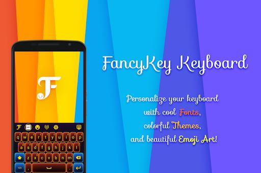 FancyKey Keyboard – Cool Fonts Emoji GIFSticker v4.7 screenshots 4