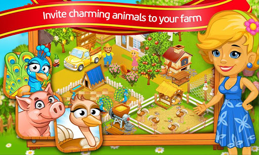 Farm Town Cartoon Story v2.11 screenshots 1