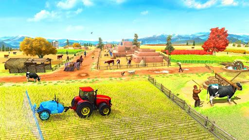 Farming Game 2021 – Free Tractor Driving Games v1.1.1 screenshots 2