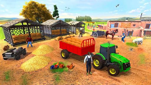 Farming Game 2021 – Free Tractor Driving Games v1.1.1 screenshots 4