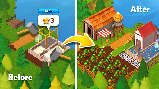 Farmship Tripeaks Solitaire v4.81.5038.0 screenshots 4