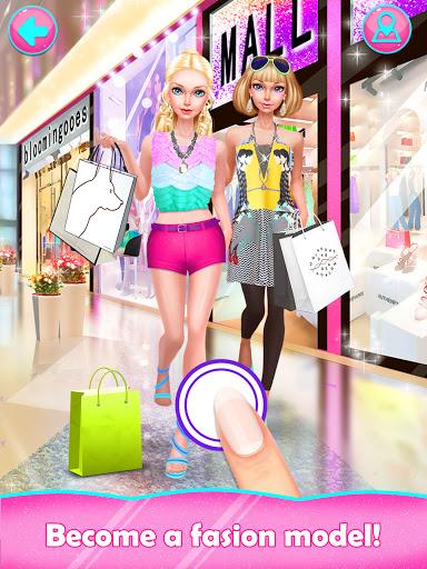 Fashion Doll Shopping Day SPA Dress-Up Games v3.0 screenshots 1