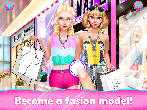 Fashion Doll Shopping Day SPA Dress-Up Games v3.0 screenshots 4