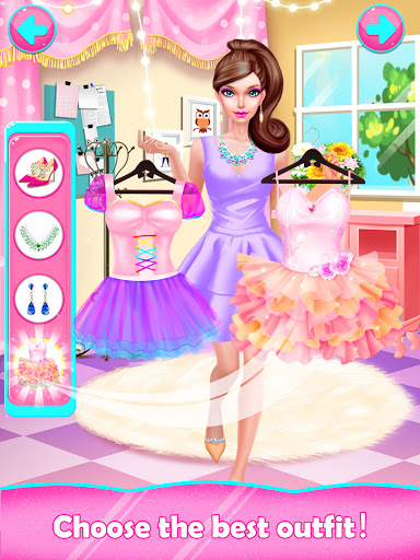 Fashion Doll Shopping Day SPA Dress-Up Games v3.0 screenshots 7