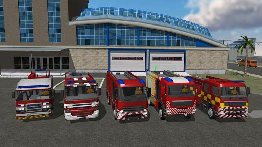 Fire Engine Simulator v1.4.7 screenshots 10