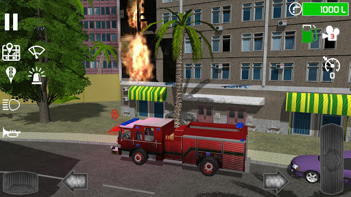 Fire Engine Simulator v1.4.7 screenshots 2