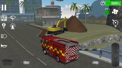 Fire Engine Simulator v1.4.7 screenshots 4