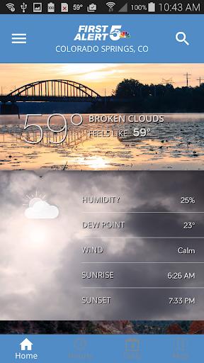 First Alert 5 Weather App v5.2.500 screenshots 1