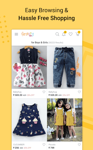 FirstCry India – Baby amp Kids Shopping amp Parenting v9.9.17 screenshots 4