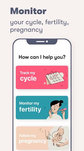Flo Period amp Ovulation tracker. My Cycle Calendar v screenshots 2