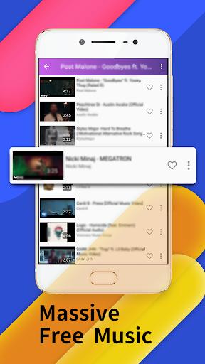 Floating Tunes-Free Music Video Player v4.2.0 screenshots 1