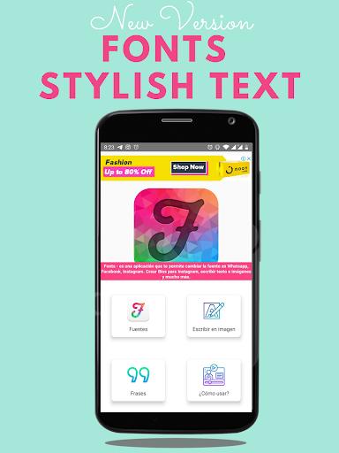 Fonts – Stylish Text amp Cool Fonts v1.2.2 screenshots 1