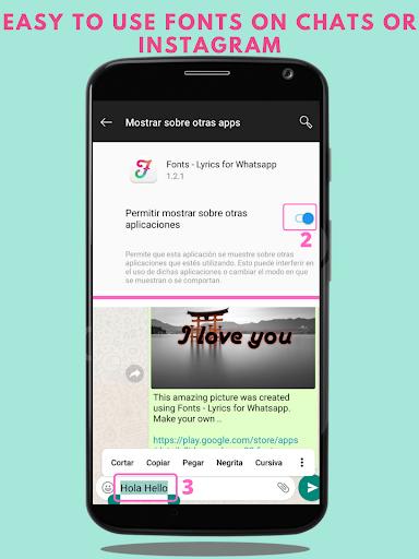 Fonts – Stylish Text amp Cool Fonts v1.2.2 screenshots 2