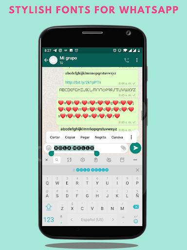 Fonts – Stylish Text amp Cool Fonts v1.2.2 screenshots 4
