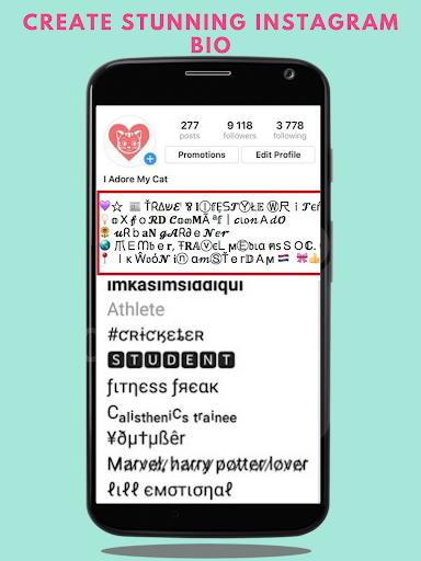 Fonts – Stylish Text amp Cool Fonts v1.2.2 screenshots 7