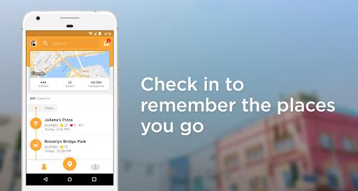 Foursquare Swarm Check In v6.10.1 screenshots 1
