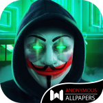 Free Download 😈Anonymous Wallpapers HD😈 Hackers Wallpapers 4K 1.15 APK