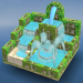 Free Download Flow Water Fountain 3D Puzzle 1.2 APK