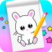 Free Download How to draw cute animals step by step 1.8 APK