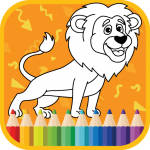 Free Download Kids Coloring Book : Cute Animals Coloring Pages 1.0.1.4 APK