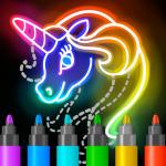 Free Download Learn to Draw Glow Cartoon 1.0.19 APK