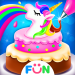 Free Download Rainbow Unicorn Cake Maker – Kids Cooking Games 1.9 APK