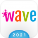 Free Download Wave Keyboard Background – Animations, Emojis, GIF 1.67.5 APK
